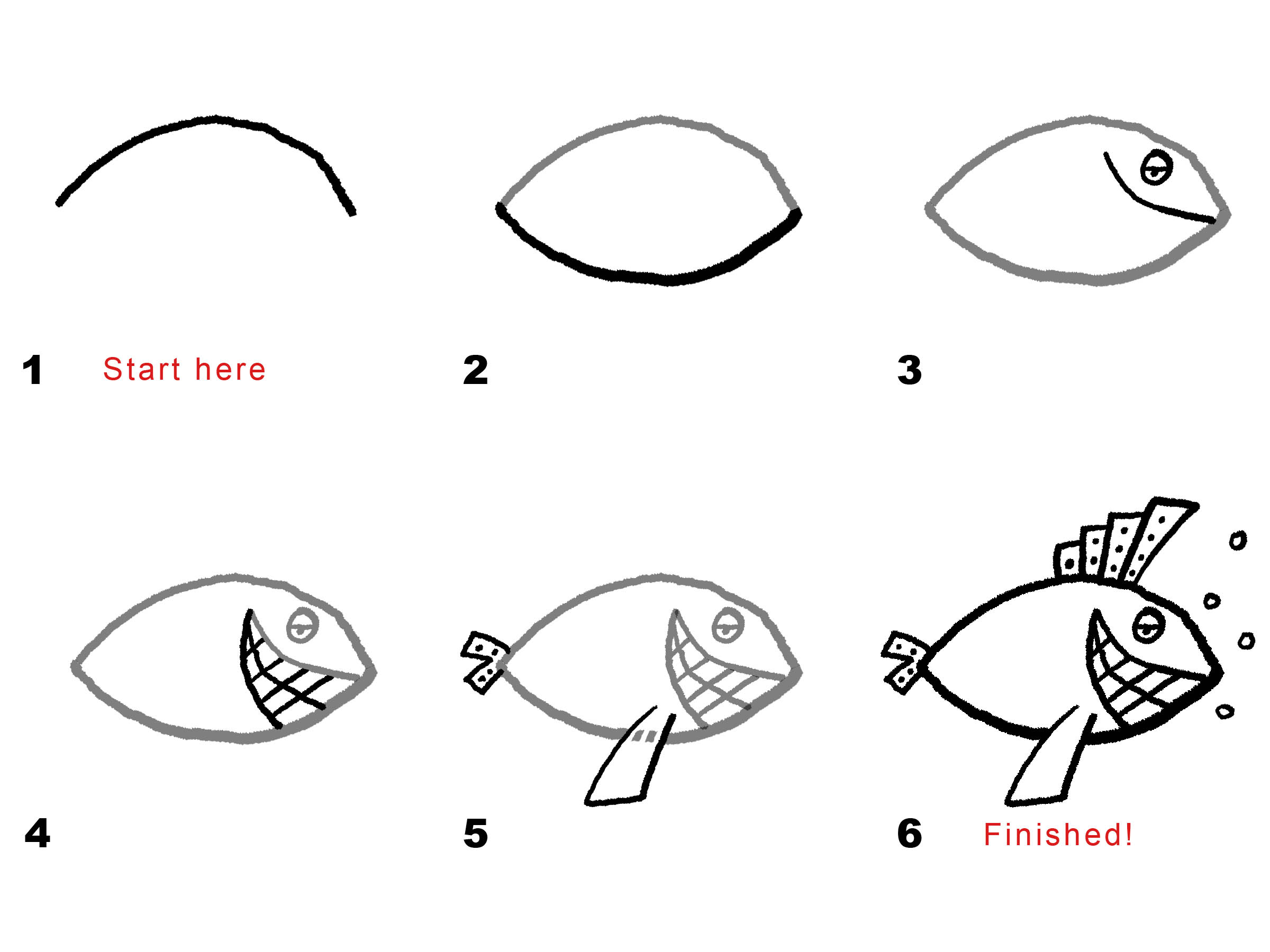 How to make a drawing