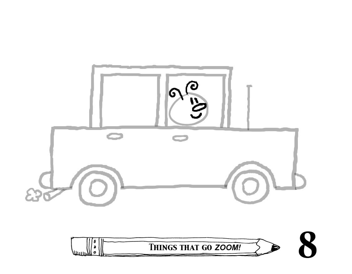 drawing car 1 u2026things that go zoom draw with rich