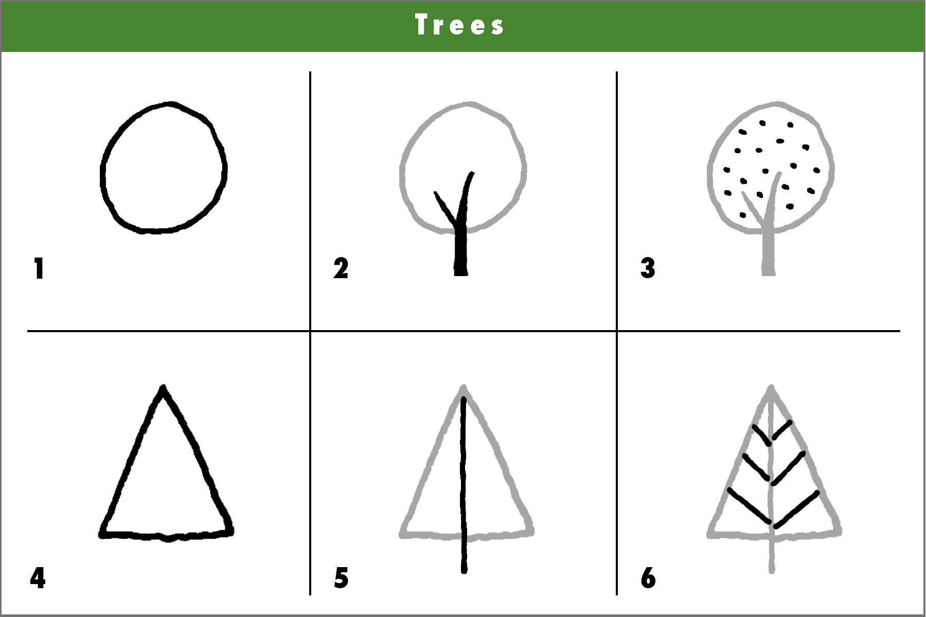 drawing for kids using shapes club - Kids Simple Drawing